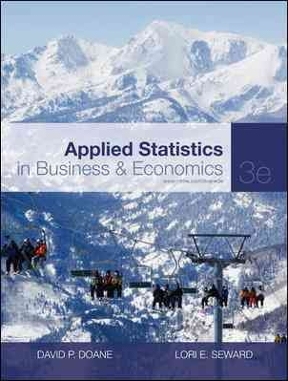 Applied Statistics in Business and Economics 3rd Edition – PDF ebook