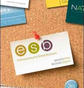 Entrepreneurial Small Business 3rd Edition – PDF ebook