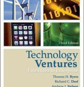 Technology Ventures: From Idea to Enterprise 4th Edition – PDF ebook