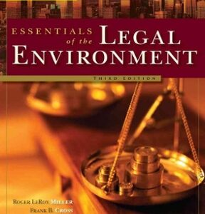 Cengage Advantage Books: Essentials of the Legal Environment 3rd Edition – PDF ebook