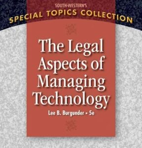 Legal Aspects of Managing Technology 5th Edition – PDF ebook