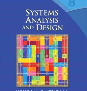 Systems Analysis and Design 8th Edition – PDF ebook