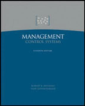 Management Control Systems 12th Edition – PDF ebook