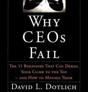 Why CEOs Fail: The 11 Behaviors That Can Derail Your Climb to the Top – And How to Manage Them 1st Edition – PDF ebook