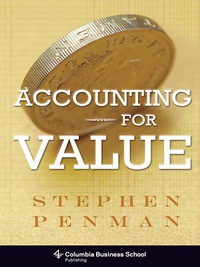 Accounting for Value 1st Edition – PDF ebook