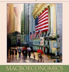 Macroeconomics and the Financial System 1st Edition – PDF ebook