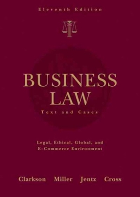 Business Law: Text and Cases 11th Edition – PDF ebook