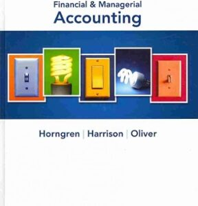 Financial & Managerial Accounting 3rd Edition – PDF ebook