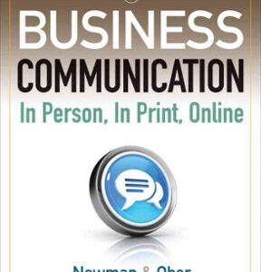 Business Communication: In Person, In Print, Online 8th Edition – PDF ebook