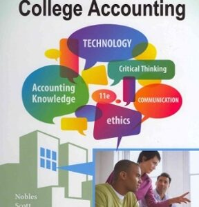 College Accounting, Chapters 1-12 11th Edition – PDF ebook