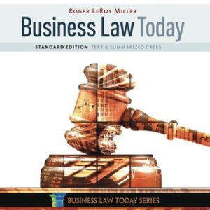Business Law Today, Standard: Text & Summarized Cases 11th Edition – PDF ebook