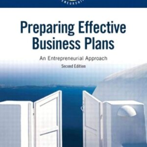 Preparing Effective Business Plans: An Entrepreneurial Approach 2nd Edition – PDF ebook