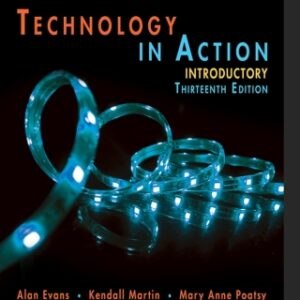 Technology In Action Introductory 13th Edition – PDF ebook
