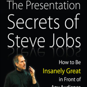 The Presentation Secrets of Steve Jobs: How to Be Insanely Great in Front of Any Audience 1st Edition – PDF ebook
