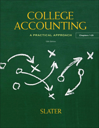 College Accounting: A Practical Approach 12th Edition – PDF ebook