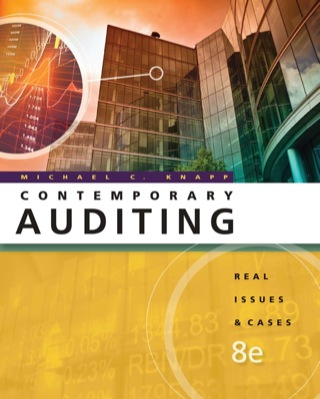 Contemporary Auditing: Real Issues and Cases 8th Edition – PDF ebook