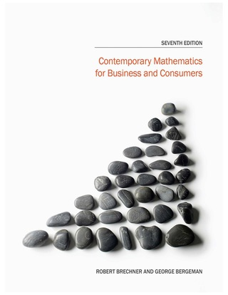 Contemporary Mathematics for Business and Consumers 7th Edition – PDF ebook