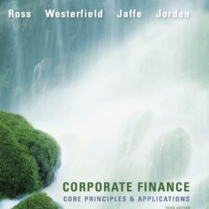 Corporate Finance: Core Principles and Applications 3rd Edition – PDF ebook