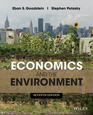 Economics and the Environment 7th Edition – PDF ebook