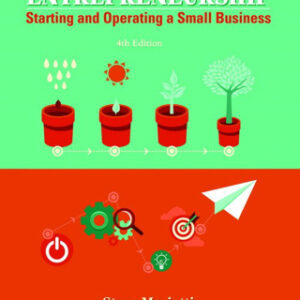 Entrepreneurship: Starting and Operating A Small Business 4th Edition – PDF ebook