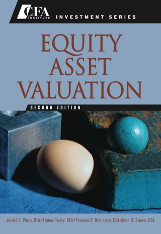 Equity Asset Valuation 2nd Edition – PDF ebook