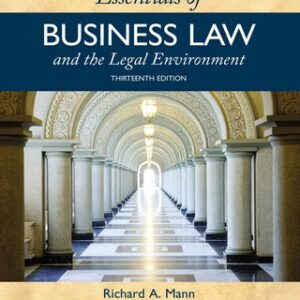 Essentials of Business Law and the Legal Environment 13th Edition – PDF ebook