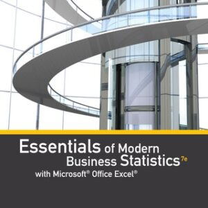 Essentials of Modern Business Statistics with Microsoft Office Excel 7th Edition – PDF ebook