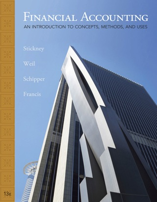 Financial Accounting: An Introduction to Concepts, Methods and Uses 13th Edition – PDF ebook