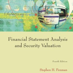 Financial Statement Analysis and Security Valuation 4th Edition – PDF ebook