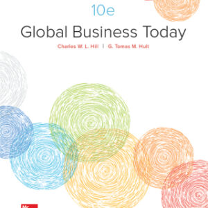 Global Business Today 10th Edition – PDF ebook