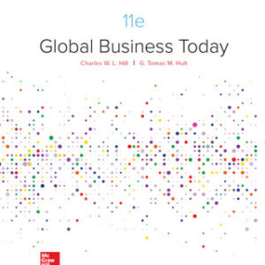 Global Business Today 11th Edition – PDF ebook