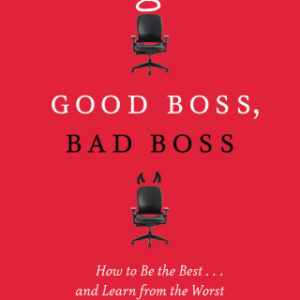 Good Boss, Bad Boss: How to Be the Best… and Learn from the Worst 1st Edition – PDF ebook