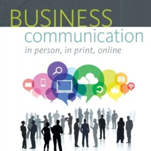 Business Communication: In Person, In Print, Online 10th Edition – PDF ebook