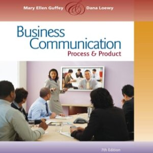 Business Communication: Process and Product 7th Edition – PDF ebook