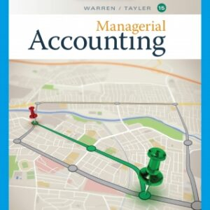Managerial Accounting 15th Edition – PDF ebook