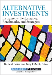 Alternative Investments: Instruments, Performance, Benchmarks, and Strategies 1st Edition – PDF ebook