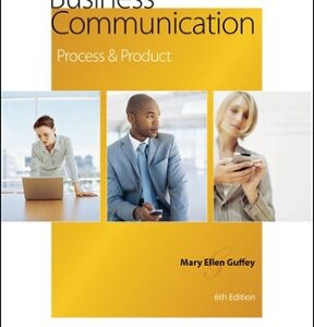 Business Communication: Process and Product 6th Edition – PDF ebook