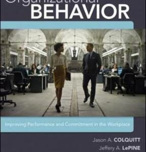 Organizational Behavior: Improving Performance and Commitment in the Workplace 4th Edition – PDF ebook