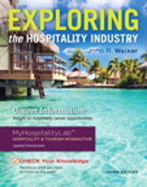 Exploring the Hospitality Industry 3rd Edition – PDF ebook
