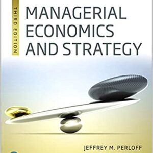 Managerial Economics and Strategy 3rd Edition – PDF ebook