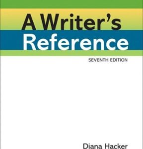 A Writer's Reference, 7th Edition – PDF ebook