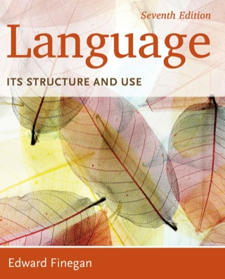 Language: Its Structure and Use, 7th Edition – PDF ebook