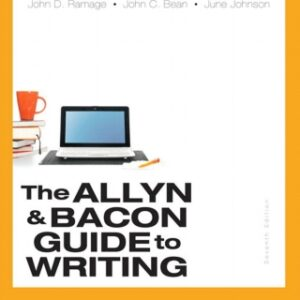 The Allyn & Bacon Guide to Writing, Brief Edition , 7th Edition – PDF ebook