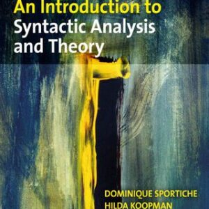 An Introduction to Syntactic Analysis and Theory, 1st Edition – PDF ebook