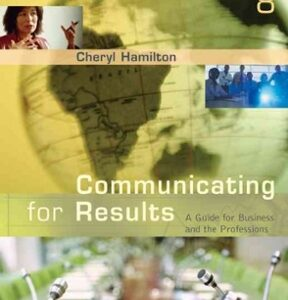 Communicating for Results: A Guide for Business and the Professions, 8th Edition – PDF ebook