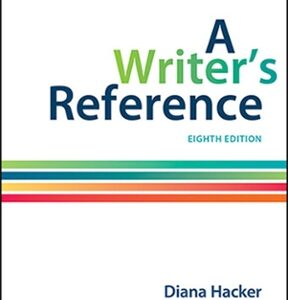 A Writer's Reference, 8th Edition – PDF ebook