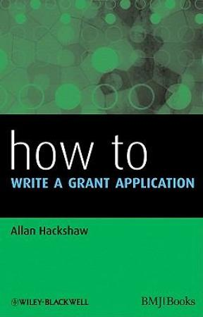 (PDF ebook) How to Write a Grant Application, 1st Edition