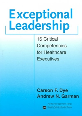 (PDF ebook) Exceptional Leadership: 16 Critical Competencies for Healthcare Executives, 1st Edition