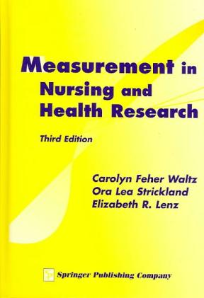 (PDF ebook) Measurement in Nursing and Health Research, 3rd Edition