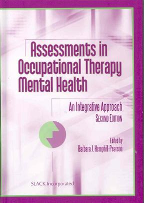 (PDF ebook) Assessments in Occupational Therapy Mental Health: An Integrative Approach, 2nd Edition